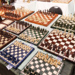 Постер, плакат: Chess Boards For Sale at Mauerpark Flea Sunday Flea Market