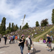 Sunday at Mauer Park Berlin Germany - 