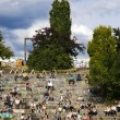 Mauerpark Amphitheater on Sunday, Berlin Germany — Stock Photo