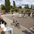 Basketball Game at Mauerpark Berlin — Stock Photo #24051237