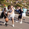 Street Basketball Intense Battle — Stock Photo #24051371