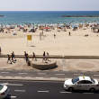 Summer at Beach in Tel-Aviv — Stock Photo #24053315