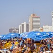 Summer at the Beach in Tel-Aviv — Stock Photo