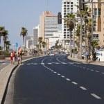 Summer at the Beach in Tel-Aviv — Stock Photo