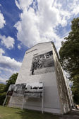 Berlin Wall Memorial Acker Strasse — Stock Photo