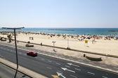 Estate in spiaggia a tel-aviv — Foto Stock
