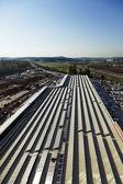 太陽のショッピング モール — ストック写真