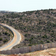 Stock Photo: Wall of Separation Palestine Israel Apartheid