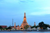 Wat Arun, the Old Temple of Bangkok — 图库照片