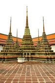 Stupa in wat pho in Thailand — Stock Photo