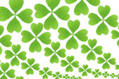 Green leaves wallpaper — Stock Photo