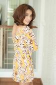 Vacker asiatisk tjej — Stockfoto