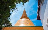 在泰国的佛 prathom 塔 — 图库照片