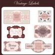 Vintage Labels Set — Stock Vector #22120465