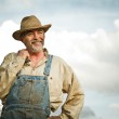 Farmer smiling — Stock Photo #22072811