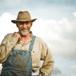 Farmer smiling — Stock Photo #22072831