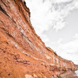 Foto Stock: Cliff by sea