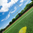 Football field - Foto Stock