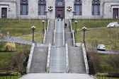 St-Joseph Oratory stairs — Stock Photo
