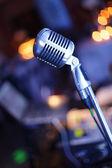 Vintage Microphone — Stock Photo