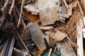 Pile of garbage — Stock Photo