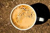 新鲜黑咖啡 — 图库照片