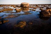 Stones in water — Stock Photo