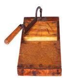 Antique tobacco leaves chopper — Stockfoto