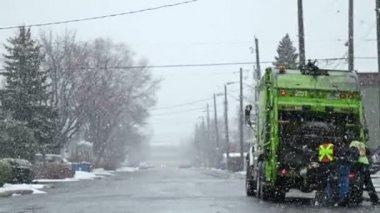 Garbage Truck — Stock Video