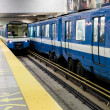 Stock Photo: Montreal Metro