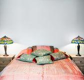 Beautiful Bedroom Interior detail — Stock Photo