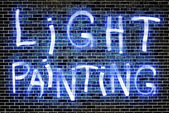 Light Painting — Stock Photo