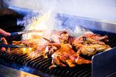 Portuguese Chicken on the Grill — Photo