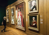 Montreal Fine Arts Museum Room — Stock Photo
