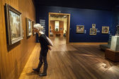 Montreal Fine Arts Museum Room — Stock Photo