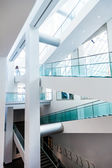 Montreal Fine Arts Museum Modern Staircase Set — Stock Photo