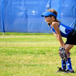 Softball Player Ready for the Next Play — Stock Photo #22718981