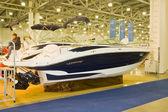 International boat show — Stock Photo