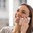 Woman on the phone — Stock Photo #23802213