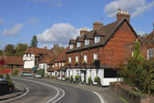 Cottages at Chiddingfold. Surrey. England — Stock Photo