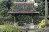 Lych-Gate at Leigh in Surrey. England — Stock Photo