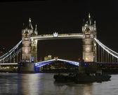 Tower Bridge at night. London. England — Stock Photo