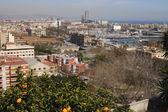 Vista sobre barcelona. Catalunha. Espanha — Fotografia Stock