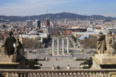 View over Barcelona. Catalonia. Spain — Stock Photo