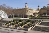 Cascade at National Art Museum. Barcelona. Spain — ストック写真