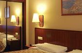 Modern Hotel room — Stock Photo