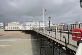 Worthing pier. sussex. anglie — Stock fotografie