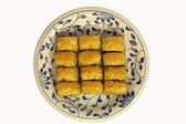 Baklava, most famous turkish dessert — Stock Photo