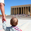Going to the anitkabir — Stock Photo
