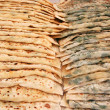 Delicious turkish bread ,gozleme — Stock Photo